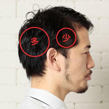チェックが済んだら早速カット。薄毛の目立たない髪型をオーダーしてみよう。魔法の呪文はこの3つだ。